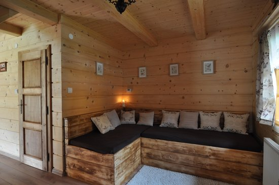 Zilina Region, سلوفاكيا: Cottage- living room