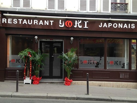 Restaurant l 39 ext rieur photo de yoki sushi paris for Exterieur restaurant