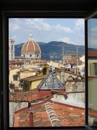 Hotel Palazzo Guadagni: Aussicht aus dem Zimmer