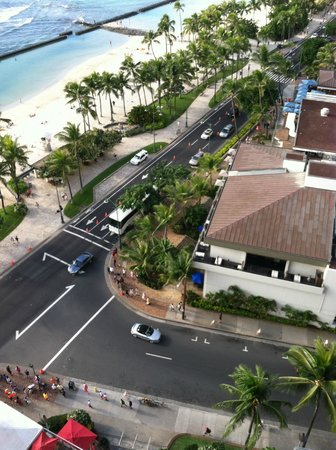 Aston Waikiki Beach Hotel: Never look down upon the world, just look at it from you perspective!