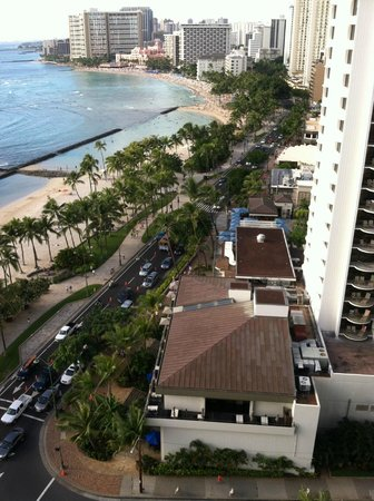 Aston Waikiki Beach Hotel : Just love this hotel location!