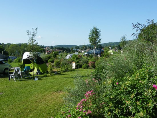 Camping Les 12 Cols : Les emplacments