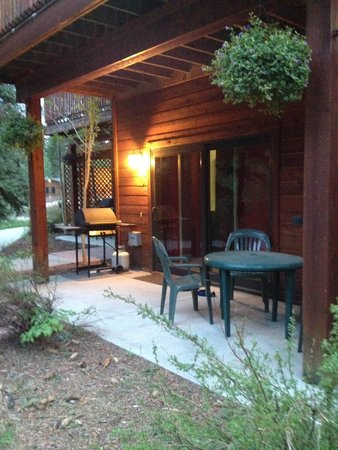 Estes Park Condos: patio