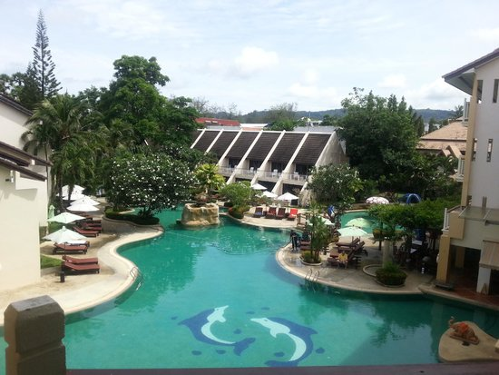 Thara Patong Beach Resort & Spa: View from Room