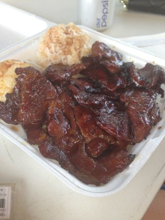 Bradduh Hutt: BBQ Pork. AMAZING