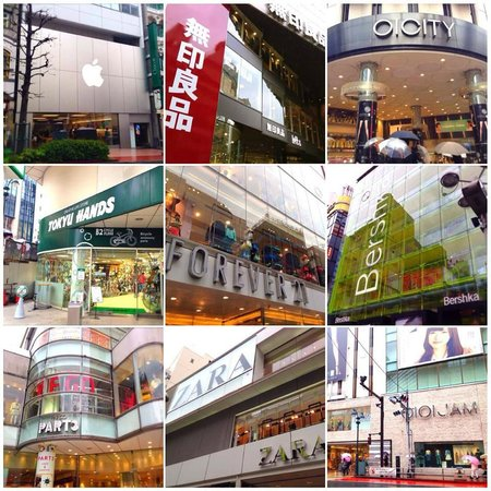 Shibuya Tobu Hotel : Enjoy shopping in Shibuya
