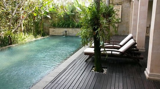 Gending Kedis Villas & Spa Estate: Private Pool.