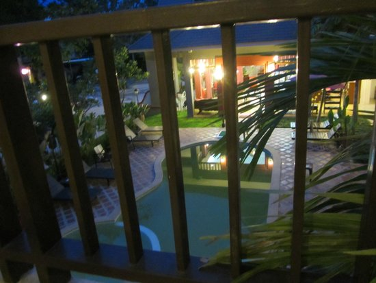 The Opium Serviced Apartment & Hotel : A View during the evening from Balcony
