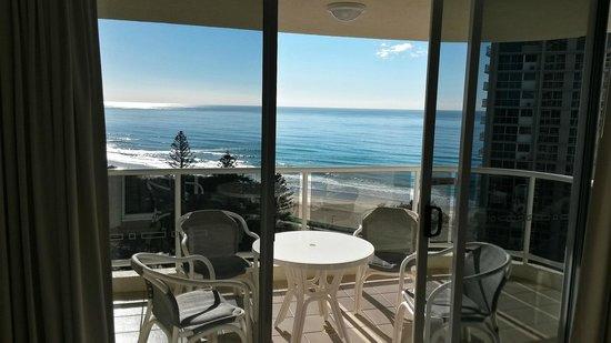 Xanadu Holiday Resort : View from lounge