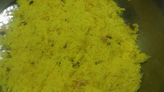 Ganges Indian Restaurant : Saffron rice