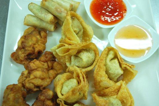 Fan's Chinese Restaurant: Starter Mix