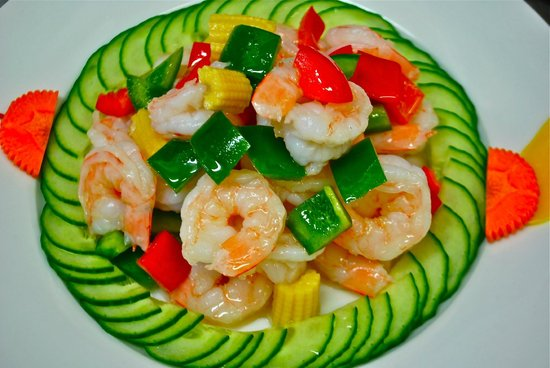 Fan's Chinese Restaurant: Stir fried Prawn