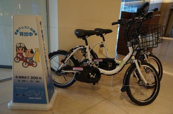 Yours Hotel Fukui: 貸出 電動自転車
