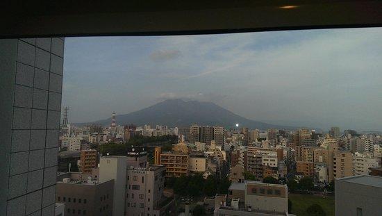Solaria Nishitetsu hotel Kagoshima: 部屋からの眺め