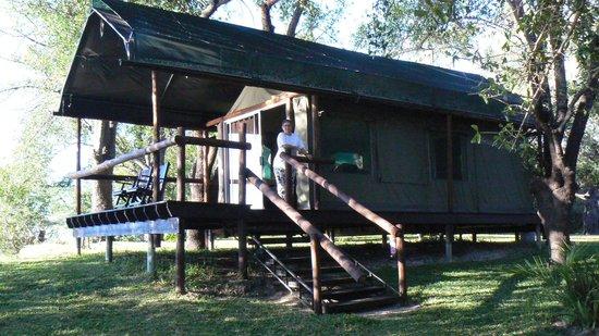 Xaro Lodge: Enjoying the location