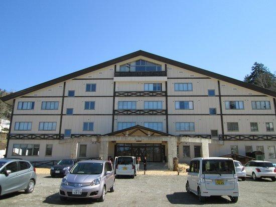 Yukomanso : 湧駒荘全景