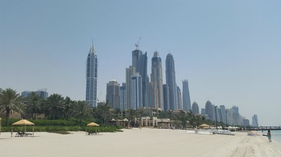 Residence & Spa at One&Only Royal Mirage Dubai: View from the beach - what a skyline