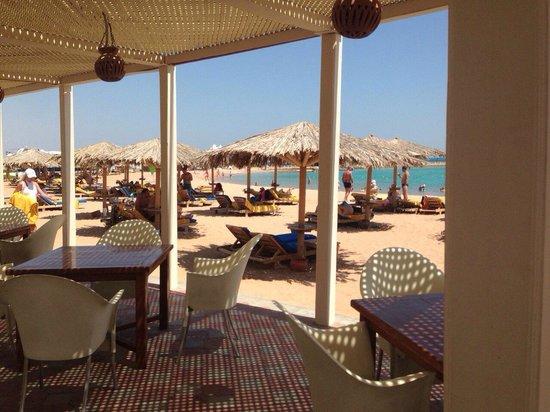 Hilton Hurghada Plaza : пляж