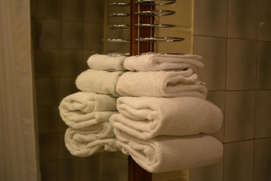 Queensway Court Motel: Clean Towel
