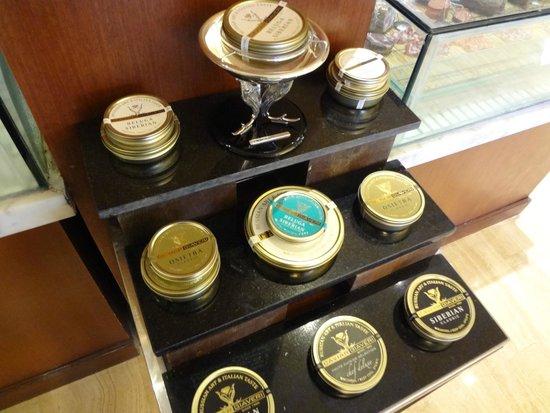 The St. Regis Bali Resort: Caviar in Gourmand Deli