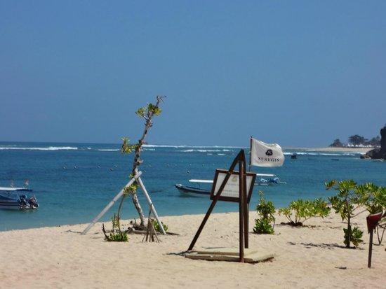 The St. Regis Bali Resort: Beach