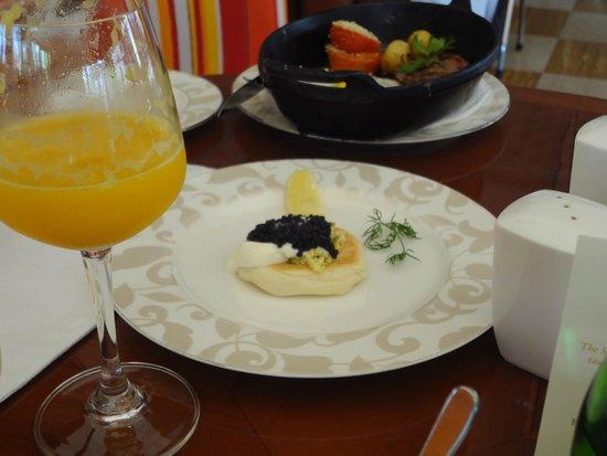The St. Regis Bali Resort : Caviar Accompanied With Wagyu Steak :)