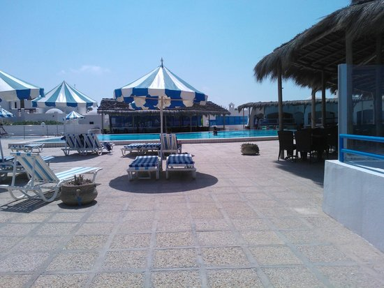 Al Jazira Beach & Spa: Seconde piscine