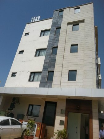 RNB, Jaipur: Front view
