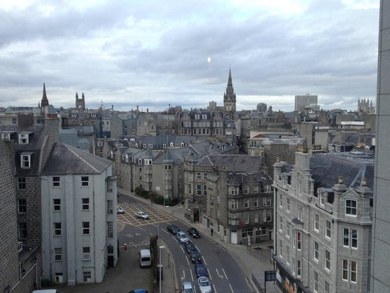 Jurys Inn Aberdeen: Vista dalla camera