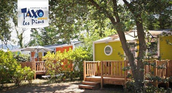 Camping Club Taxo les Pins : mobil-homes