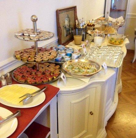 Palazzo Ruspoli : Breakfast