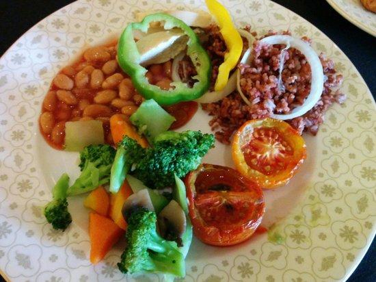Hotel Tentrem Yogyakarta: Health food in bfast menu tentrem hotel