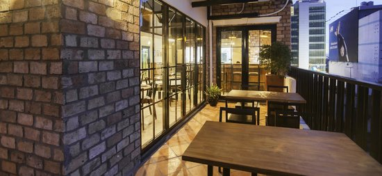 The Alcove Library Hotel : Restaurant