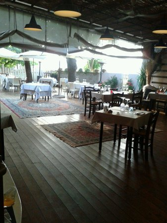 la veranda finalmente aperta - Foto di Riesling Griglia e Cucina ...