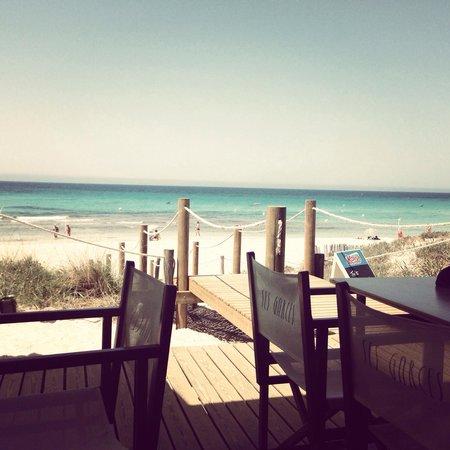 Valentin Son Bou: Son bou beach