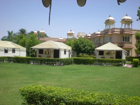 juSTa Rajputana, Udaipur Resort: one area of resort