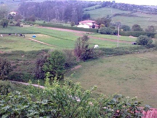 Hospederia Santillana: View from bedroom window