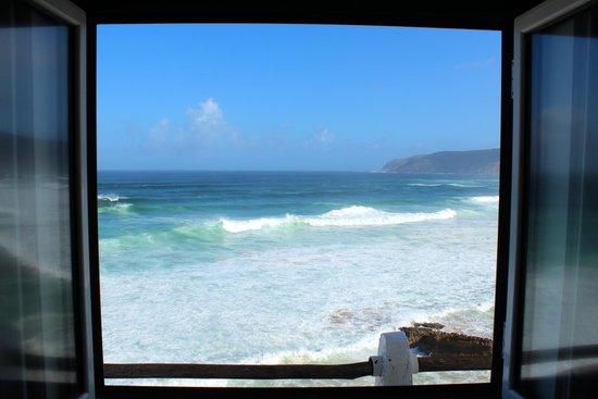 Estalagem do Forte Muchaxo: Вид на океан из номера