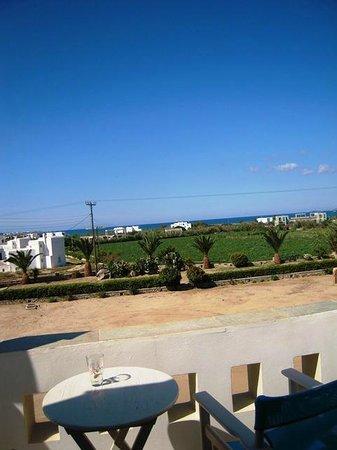 Zefyros Studios: View from terrace