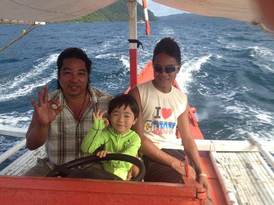 Majika's Island Resort: friendly staff (5)