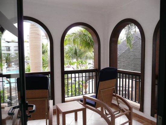 Princesa Yaiza Suite Hotel Resort : Vista desde el balcón
