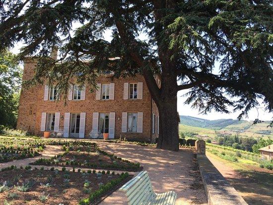 Domaine du Mont Verrier : Front of chateau