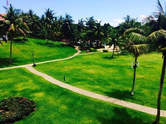 Bintan Lagoon Resort : Beautiful landscape from Balcony