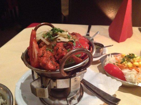 Indisches Restaurant Maharadscha: Chicken Karahi