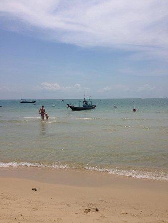 Buri Rasa Koh Phangan: Het baaitje