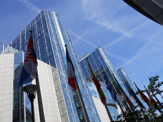Parlamentarium : zona parlamento europeo
