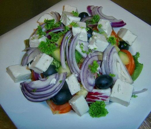 Hatties Restaurant : Part of help yourself salad bar.