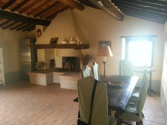 Borgo di Castelvecchio: salotto camera