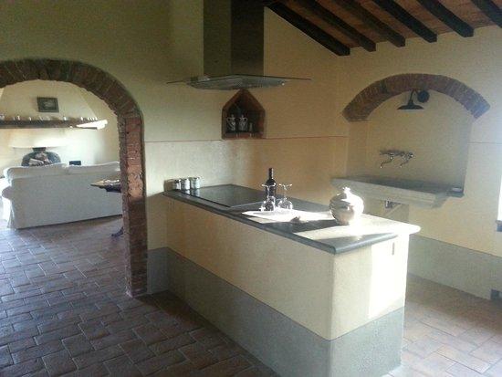 Borgo di Castelvecchio: cucina camera