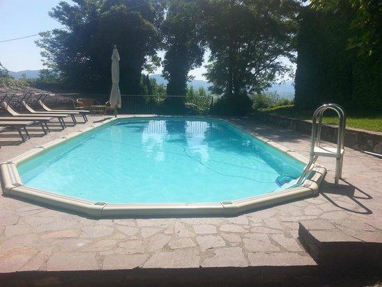 Borgo di Castelvecchio: Prima piscina